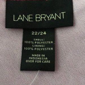 Lane Bryant Tops - Lane Bryant tank lined pinks Paisley 22